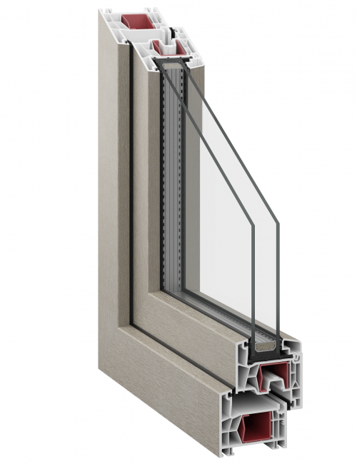 Kommerling 76 AD double glazing
