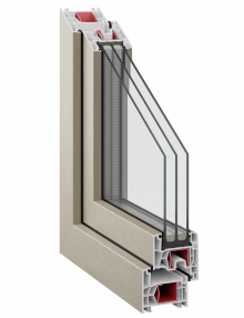 Kommerling 76 AD Classic triple glazing