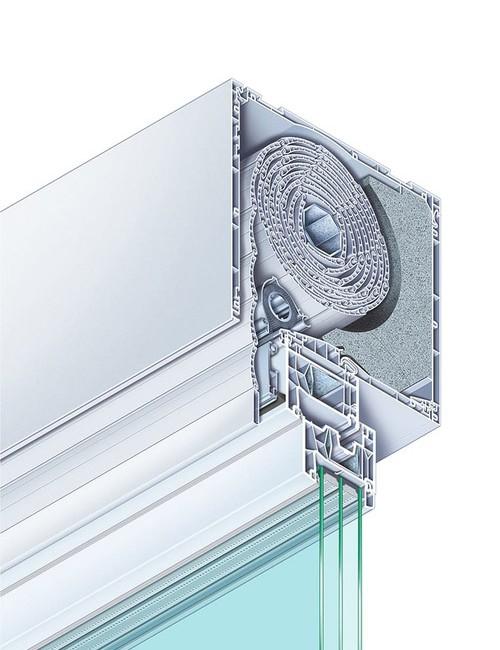 RolaPlus VariNova add-on box with integrated fly screen