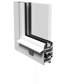Window aluminium profiles