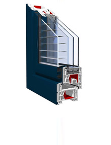 Window uPVC profiles