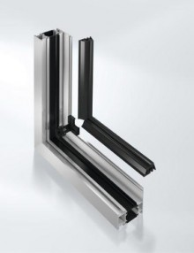 Window AWS 65 with continuous centre gasket