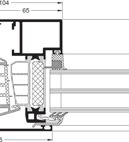window aws 90 bs si windows profiles doors glass. Black Bedroom Furniture Sets. Home Design Ideas