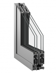 Inoform F25 thermally insulated sliding door