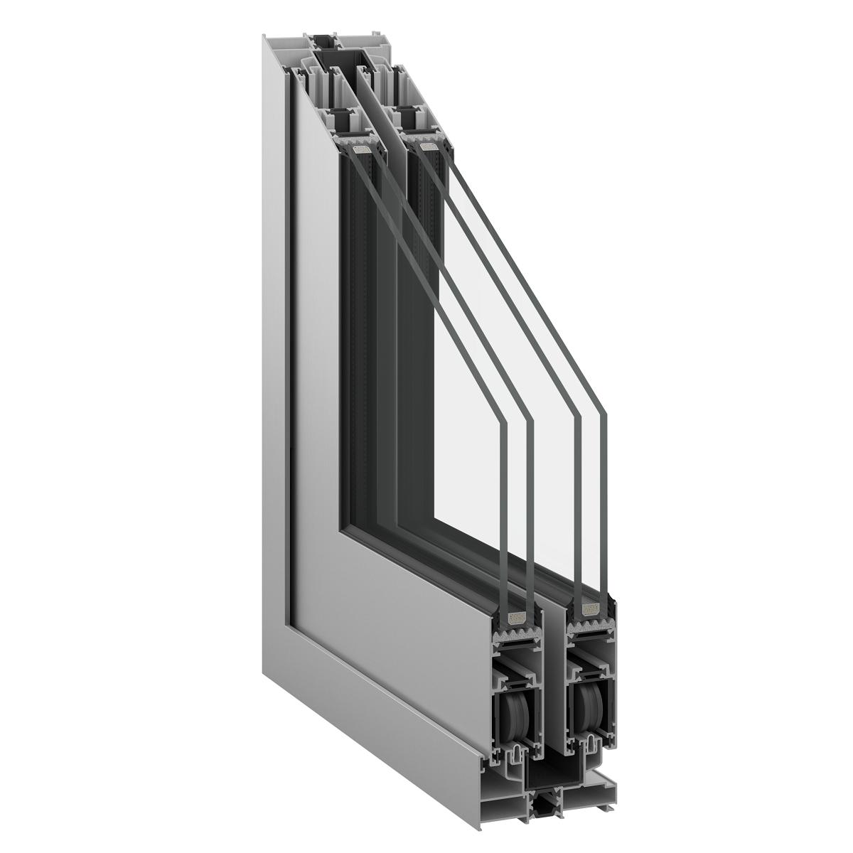 Inoform F25 thermally insulated sliding door