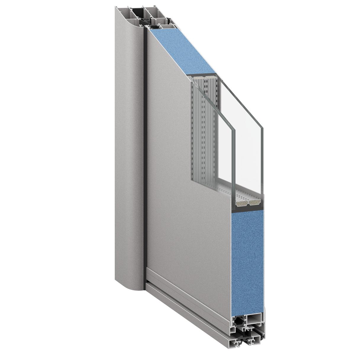 TLS 50 Aluminium Premium Door