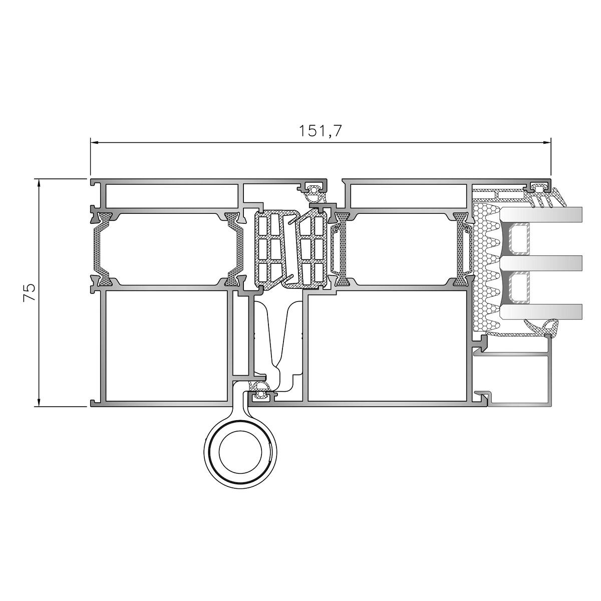 Inoform-F75-door-Frame-section