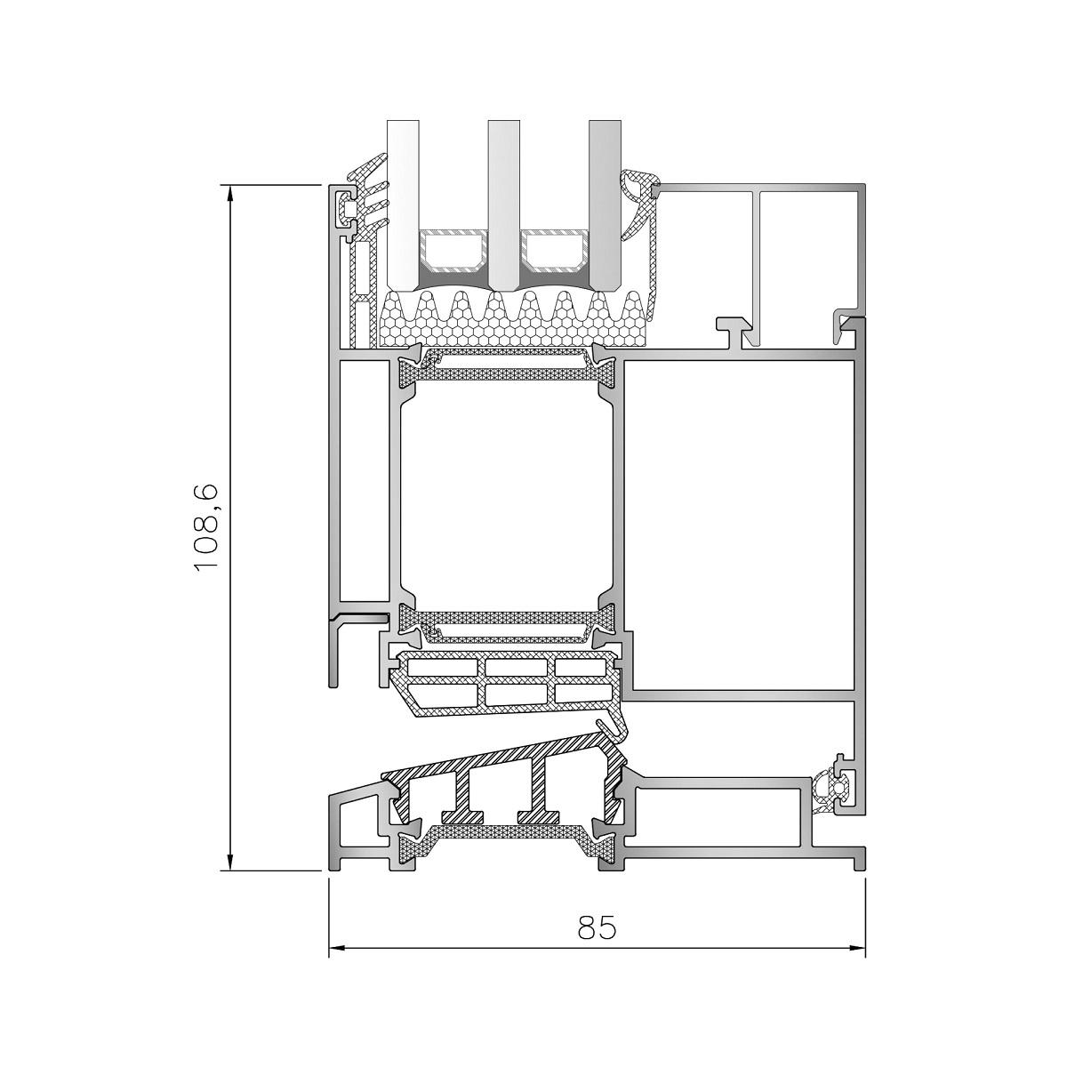 Inoform-F85-Door-Bottom-section