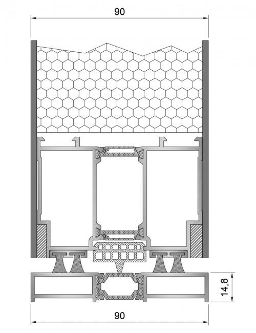 Inoform-F90-Pivot-Door-Bottom-section